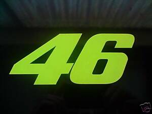 VALENTINO-ROSSI-46-STICKER-DECAL-MEDIUM-Moto-GP-Yamaha-GP