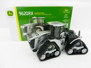 2018-ERTL-1-64-FARM-SHOW-EDITION-John-Deere-9620RX-SILVER-100-YEARS-Tractor