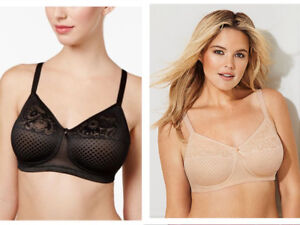 100% quality quarantee new season Sales promotion Wacoal 852210 Full Coverage Wire Free Bra Size 34D, 34G ...