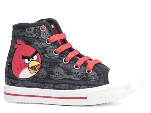 Nouveau sneaker chaussures de loisirs basses garçons Chaussures Angry Birds Noir 28-34 #8