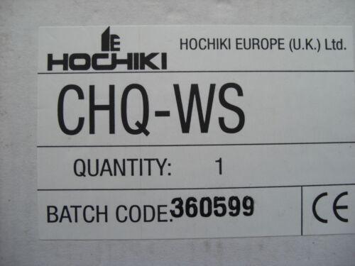 £ 21.60 Hochiki assegno POSTALE-WS indirizzabile Muro Ecoscandaglio