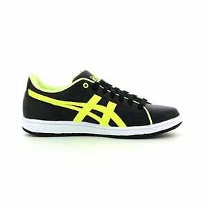 BASKET ONITSUKA TIGER LARALLY GS BY ASICS NOIR/JAUNE FLUO TAILLE 39 EU