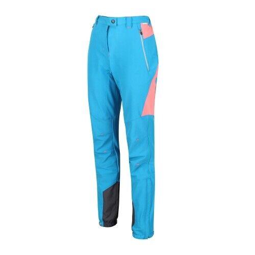 Regatta Mountain Trousers Damen Wanderhose Damen blau Hose Tourenhose  Skihose