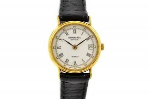 Vintage-Raymond-Weil-Geneve-5314-Gold-Plated-Quartz-Ladies-Watch-1003