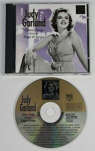 JUDY-GARLAND-Classic-Songs-From-The-Stage-amp-Screen-CD-album-UK-20trks-Disc-NM
