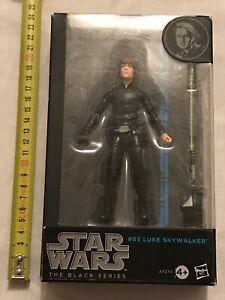 Figurine Star Wars Black Series A7270 Hasbro - 03 LUKE SKYWALKER Scellé # Figure