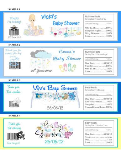 60 bouteille d/'eau étiquette faveurs anniversaire mariage baby shower poule nuit noël