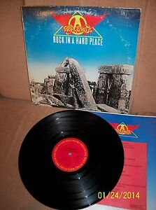 Aerosmith Rock In A Hard Place 1982 Columbia Lp Fc 38061