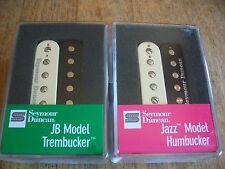 Seymour Duncan TB-4 JB Trembucker SH-2N Jazz Hot Rod Humbucker Pickup Set Zebra