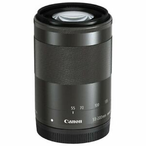 Brand-New-Canon-EF-M-55-200mm-f-4-5-6-3-IS-STM-Lens-Black-Bulk-Box-ES-3