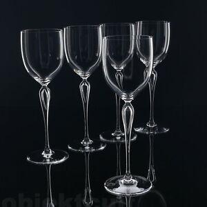 5er-Set-Rosenthal-Maitre-Kristall-Trinkglaeser-Weinglaeser-Rotwein-H-27cm-M-Boehm