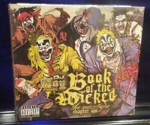 DJ Clay - Book of the Wicked Chapter 1 CD SEALED insane clown posse twiztid amb