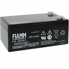 Batteria FIAMM AGM pannelli solari fotovoltaici 3,4 Ah FG20341