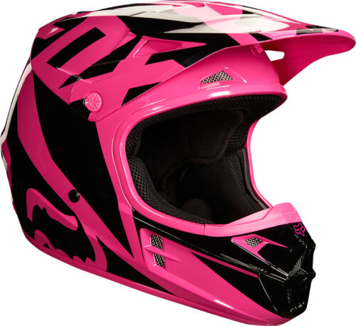 2018 Fox Racing Womens V1 Race Helmet Womens MX Motocross Dirtbike ATV Offroad