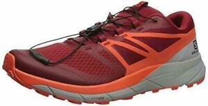Salomon Authentic Men's Sense Ride 2 Red Dahlia-Cherry Running Shoes 406010
