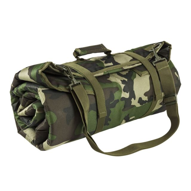 Padded Roll Up Shooting Shooters Mat Pad adjustable shoulder strap Heavy DuTy
