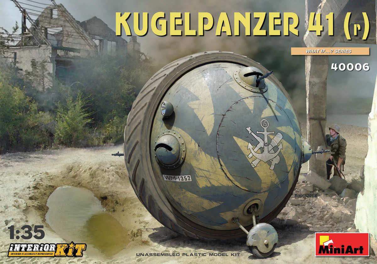 MINIART 40006 Kugelpanzer 41( r ) INTERIOR KIT 1 35 SCALE PLASTIC MODEL KIT