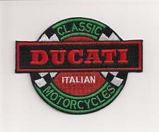 """Ducati motorcycle 3.75"""" patch. NICE NEW"""