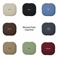 Memory Foam Chair/seat Cushion Pad : Non Slip