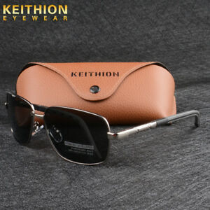 f418b071f6 Image is loading Men-Polarized-Sunglasses-Fishing-Driving-Outdoor-Sports -Square-