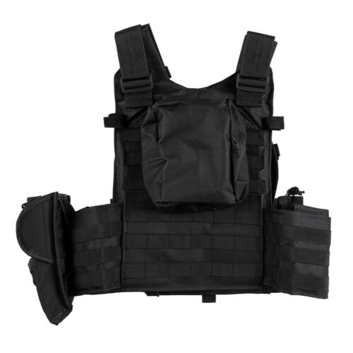 Military Vest Tactical Plate Carrier Molle Airsoft SWAT Combat Assault Gear Mens