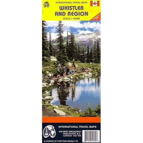 Whistler and Region Map by ITMB (Travel Reference Map) [2003] and Books
