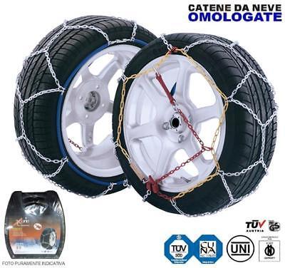 Gruppo 5 Catene da neve 9 mm RENAULT MODUS per pneumatici 165//65//15