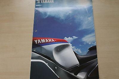 Gelochtes Prospekt 1991 Yamaha Modellprogramm MüHsam 170007 Übergröße