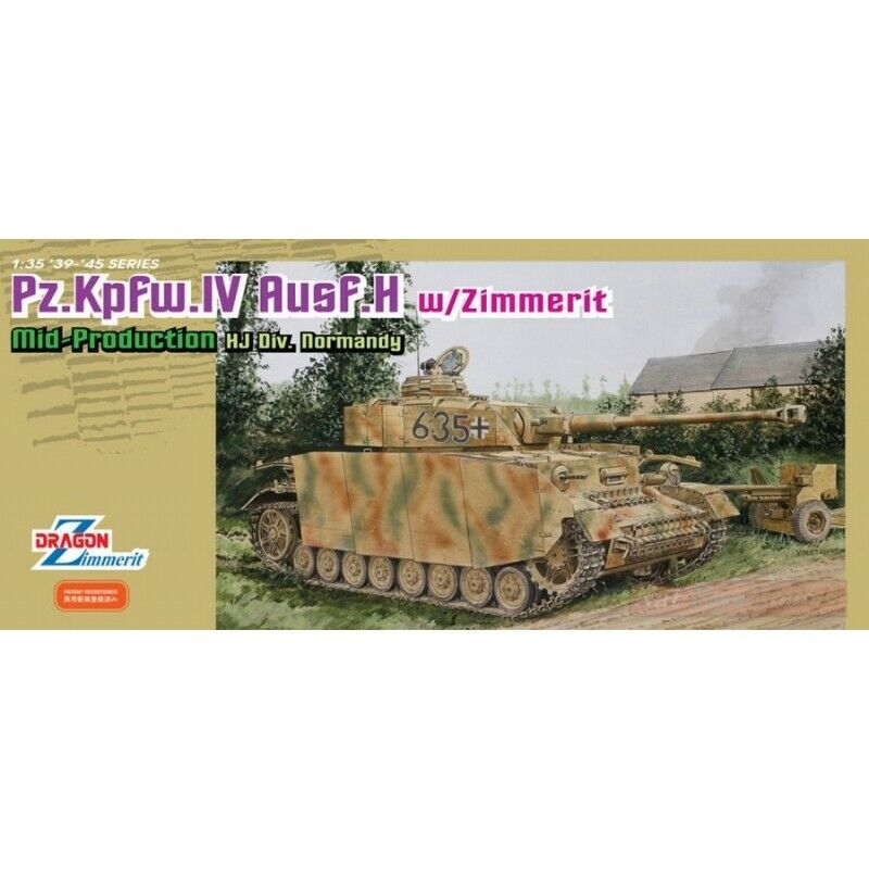 Drago D6611 PZ.KFPW IV AUSF.H Mid Prod. Kit 1 35 modelloLINO modello compatibile Co.