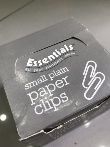 Small Plain Paper Clips Crafts Art School College University Office Work
