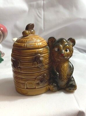 Novelty Bee Honey Pot Beautiful Silver Plated Bee Honey Jar with little paddle