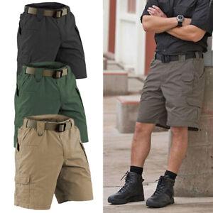 e2a3a61c3 Men Army Tactical Wear resistant Cargo shorts Slacks outdoor Cropped ...