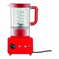Bnib Bodum Bistro Blender 1.25l Red 5 Speed Electric Blender Brand In Box