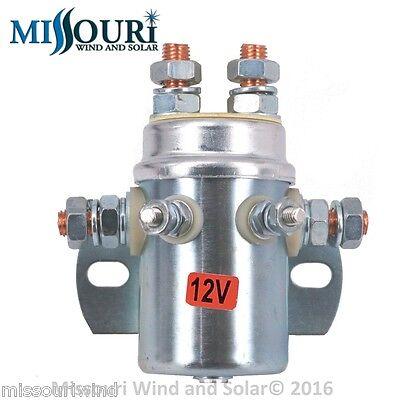 440 Amp 10,000 Watt 12 Volt DP DT Relay Wind Turbine & Solar Charge Controller