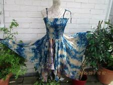 NEW IN SHORT PATCHWORK  SARI PIXIE DRESS SZ 6/14 PIXIE~FAIRY ~HIPPY~BOHO