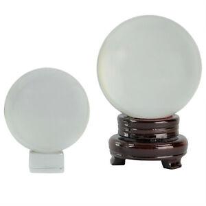 SFERA di Vetro a Sfera + supporto 50 - 200 mm foto sfera di vetro con errori