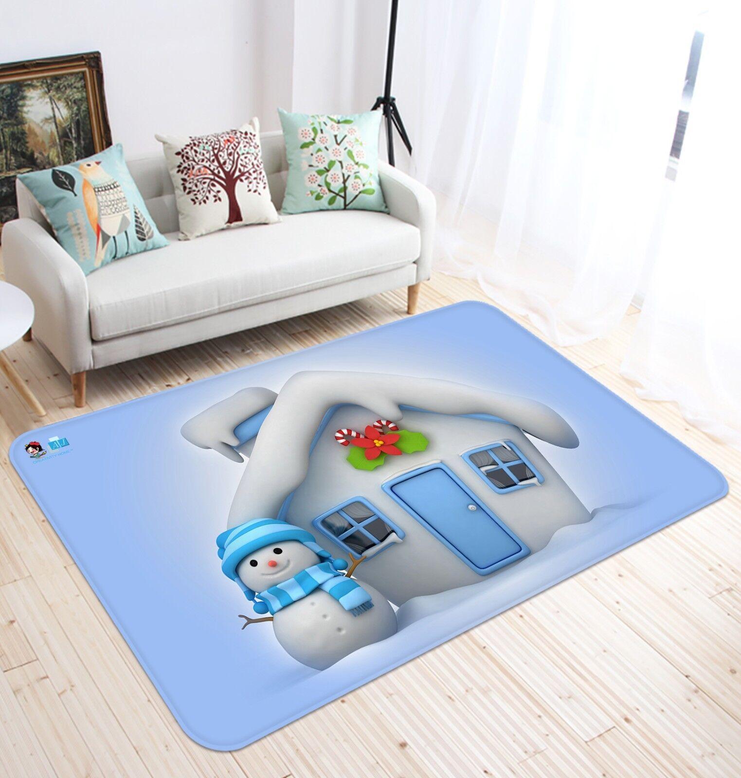3D Christmas  Xmas 428 Non Slip Slip Slip Rug Mat Room Mat Quality Elegant Photo Carpet AU 49c58e