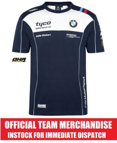Genuine NEW S1000RR TT Official Team T-Shirt Tee TYCO BMW TAS Racing BSB