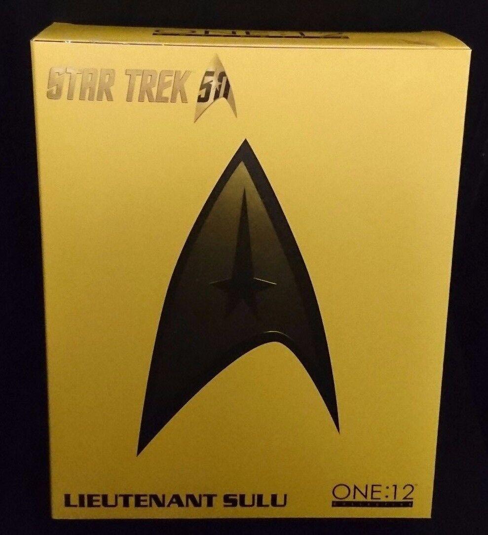 ONE 12 Collective Star Trek LIEUTENANT SULU 6  Mezco Figure New  George Takei
