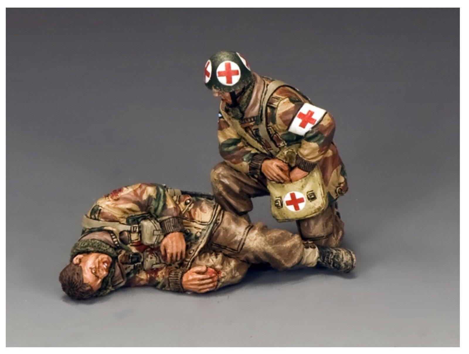 KING AND COUNTRY Operation Market Garden Medic & Wounded Para Para MG056(P) MG 56(P)
