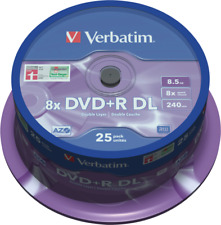 Artikelbild Verbatim DVD+R Double Layer 8.5GB 25er Spindel Rohlinge