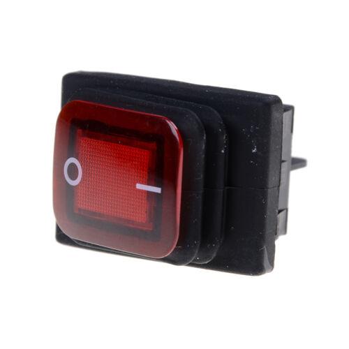 Waterproof Latching Rocker Toggle Switch AC250V//16A AC125V//20A、2018 RA
