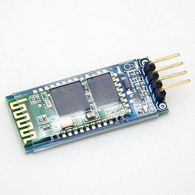Electrics 4 Pin Bluetooth RF Transceiver Module With backplane HC-06 RS232