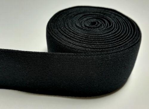Plush Waistband Elastic// Sport Bra Elastic 32mm1-1//4 Inch Mens Underwear