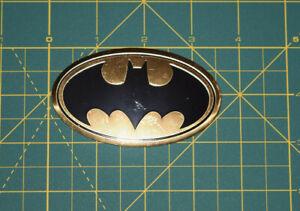 Batman-Logo-Mettallic-Sticker-DC-Comics-Originals-Vinyl-Decal-Brand-New