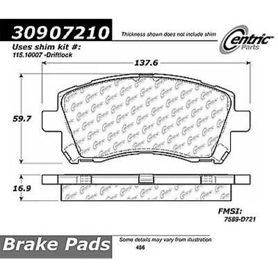 StopTech 309.07210 Street Performance Front Brake Pad