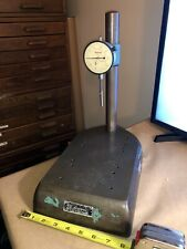 Federal Comparator Indicator Stand With Starrett Indicator 001 No 655 441