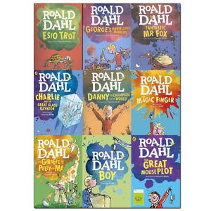 Roald-Dahl-Collection-9-Books-Set-Dahl-Fiction-Pack-The-Great-Mouse-Plot-NEW