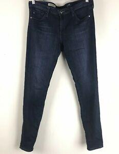 AG-Adriano-Goldschmied-The-Legging-Jeans-Women-039-s-29-R-Super-Skinny-Ankle-Dark