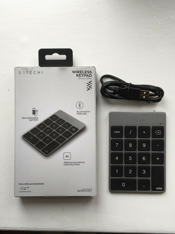 Tastatur, Satechi, Wireless keypad